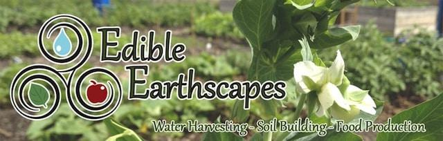 Edible Earthscapes Banner
