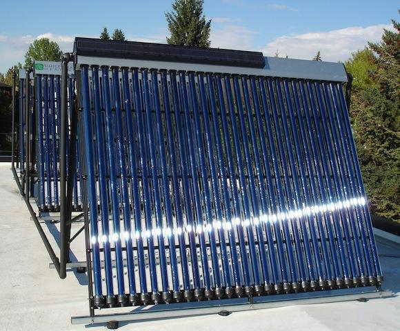 Simple Solar Tubes on flat roof