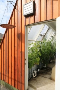 Solar Greenhouse Ventilation