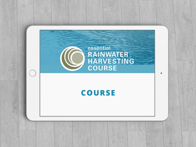 Essential Rainwater Harvesting - Online Course course image