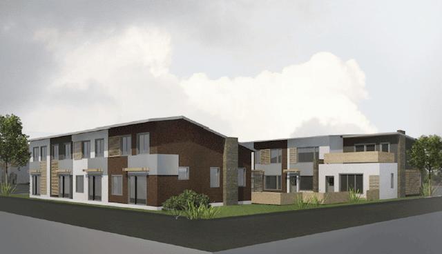 Radiance Cohousing Render