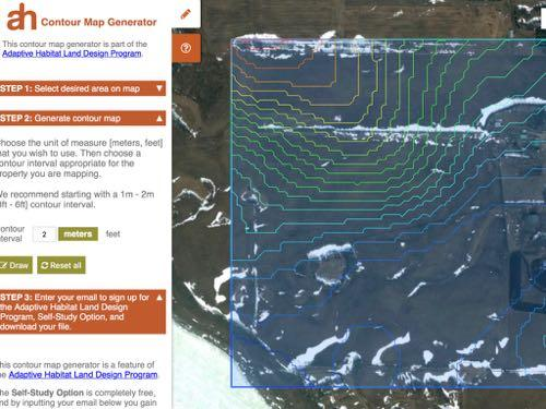 THE ADAPTIVE HABITAT CONTOUR MAP GENERATOR