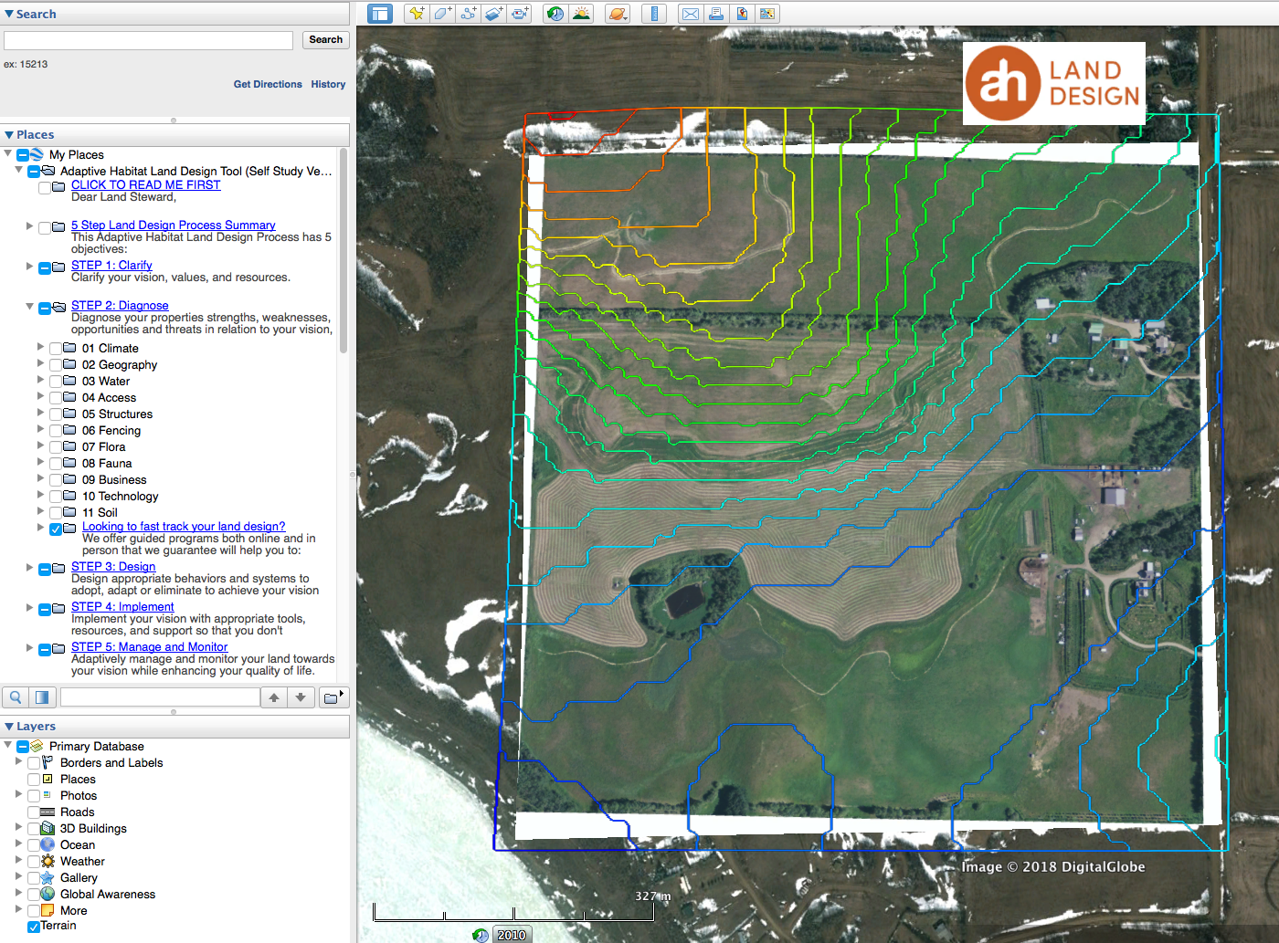 THE ADAPTIVE HABITAT TOOL FOR GOOGLE EARTH PRO