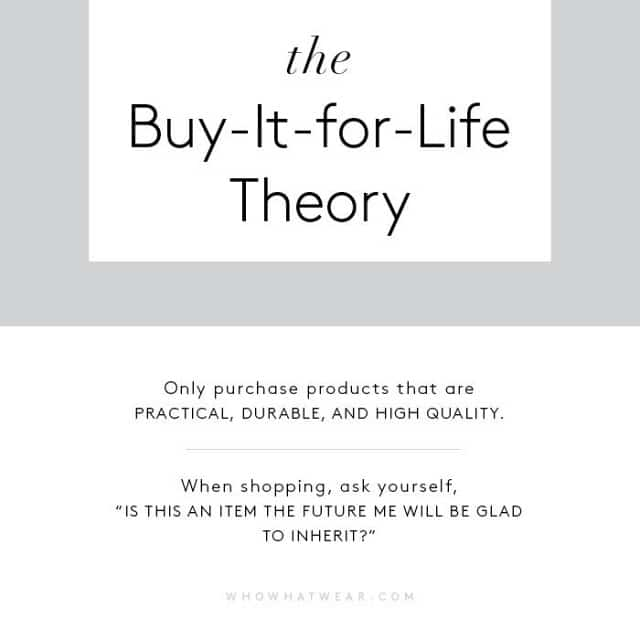 buy-for-life-theory