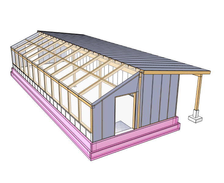 Passive Solar Greenhouse Design Course (Advanced) – Verge Permaculture