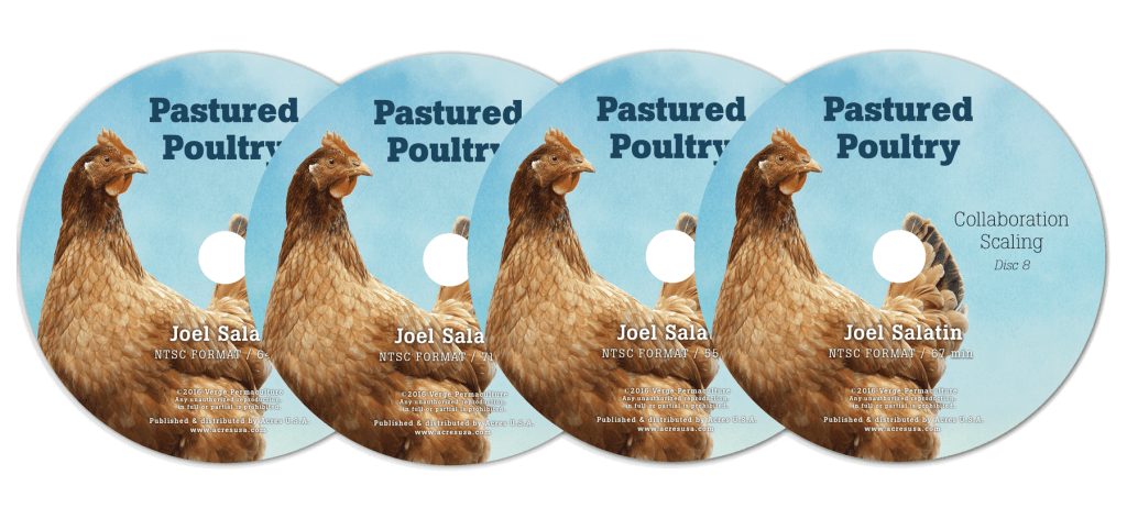 Pastured Poultry DVDs