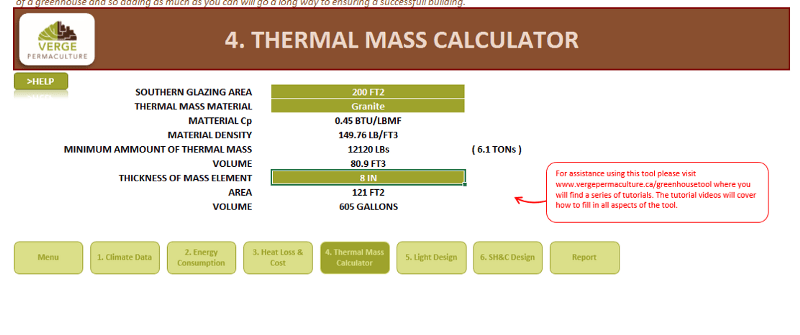 thermal-mass-calculator